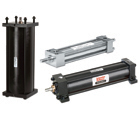 Picture of Parker air cylinders.
